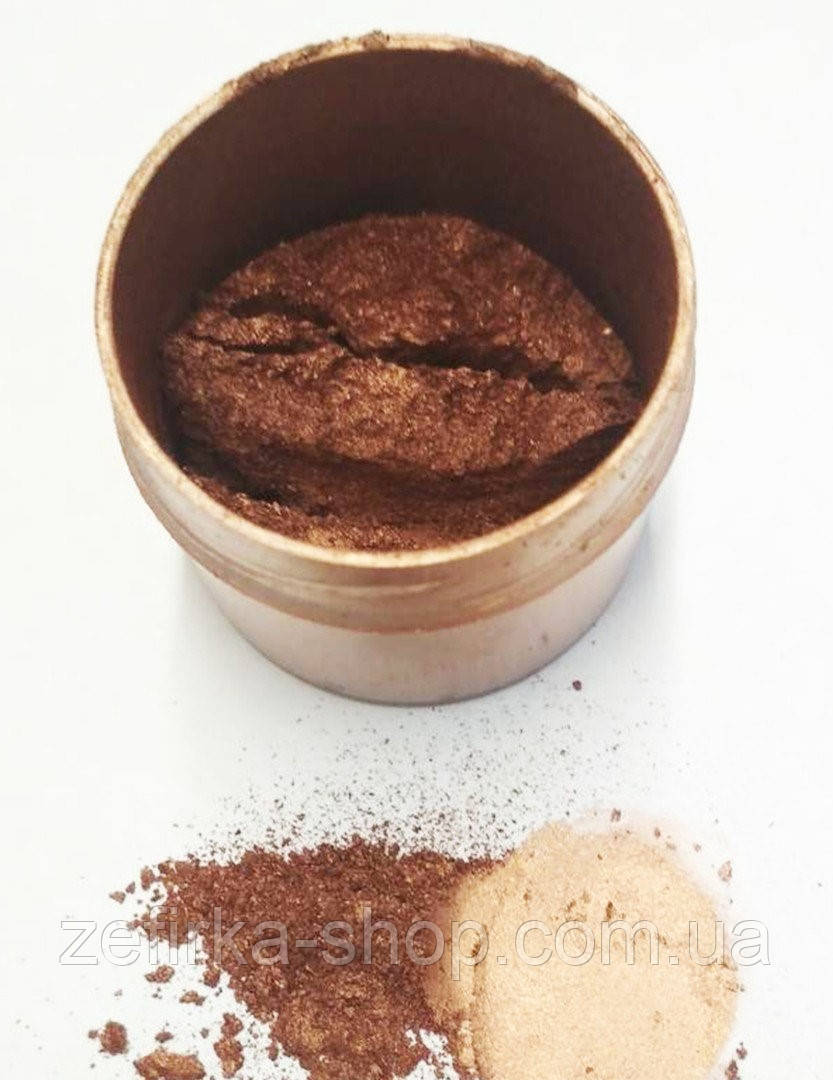 Кандурин коричневый ( молочный шоколад) блеск 5 грамм