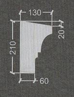 Карниз оконный гипсовый Ог-6, фото 1