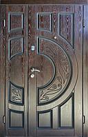 Входные двери Двери Комфорта Двери с полимерными накладками 1200x2050 мм,  860-960x2050 мм, Правые и Левые