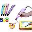 ОРИГИНАЛ 3D Ручка PEN 2 Поколения с Led Дисплеем + Пластик 3Д ручка Smart pen Пен для Рисования РАЗНЫЕ ЦВЕТА!, фото 2