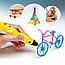 ОРИГИНАЛ 3D Ручка PEN 2 Поколения с Led Дисплеем + Пластик 3Д ручка Smart pen Пен для Рисования РАЗНЫЕ ЦВЕТА!, фото 6