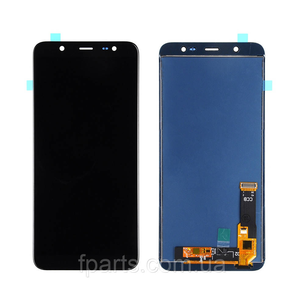 Дисплей для Samsung J810 Galaxy J8 2018 с тачскрином, Black (TFT)