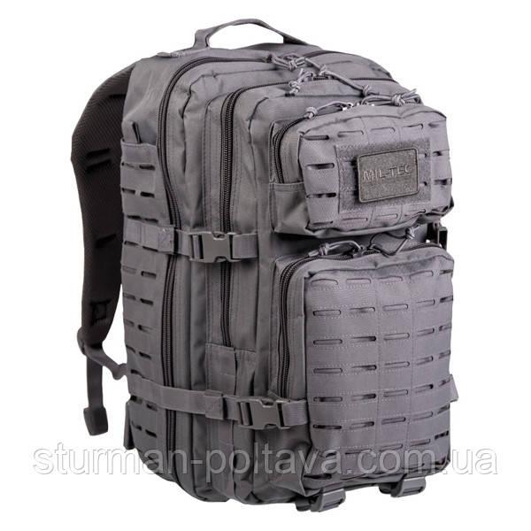 Рюкзак тактический  LASER  (L-36литров )  серый MIl-Tec   Германия