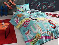 Подростковое постельное белье TAC Teen — Hashtag Ранфорс
