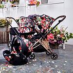Коляска Cybex Mios Lux R Spring Blossom Dark 2в1, фото 5