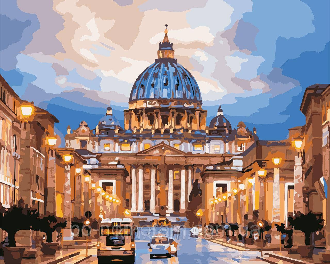 Купить Картина по номерам ArtStory Собор Святого Петра 40 ...