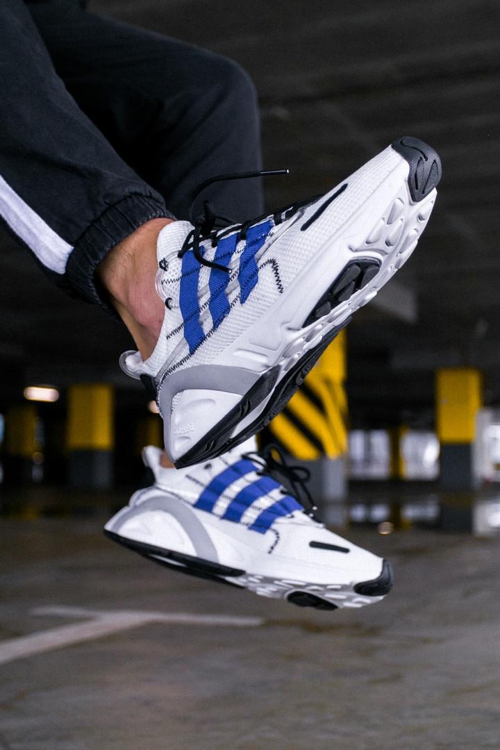 "Кроссовки Adidas Lexicon""White/Blue/Black"""
