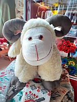 Подушка- ігрушка Баранчик великий  55 см.