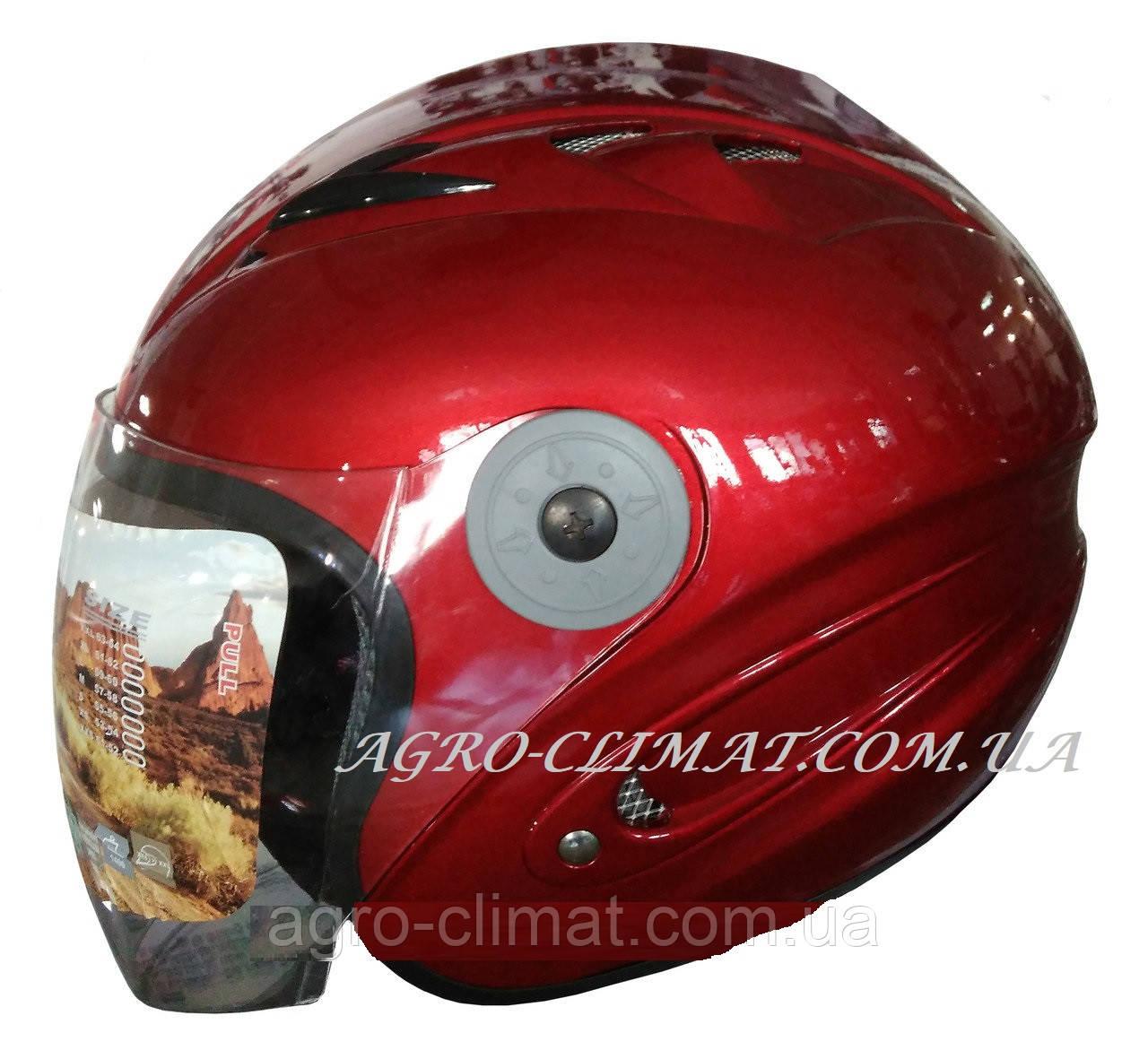 Мотошолом FXW HF-210 червоний