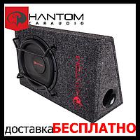 Автомобільний Сабвуфер PHANTOM GB-250BPA (активний,500/250 Вт)