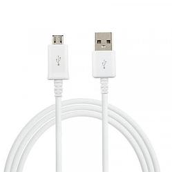 Кабель Micro USB Original 1м круглый провод, белый