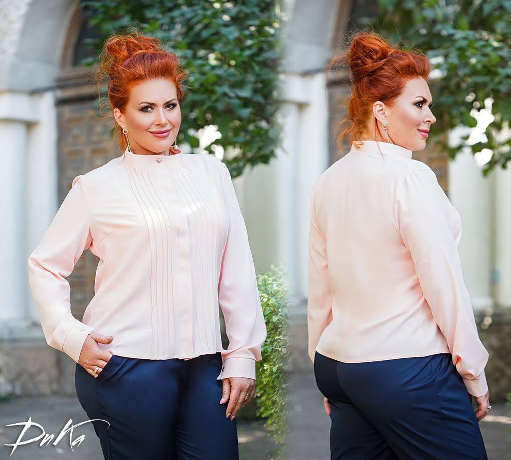 Классическая блуза в деловом стиле