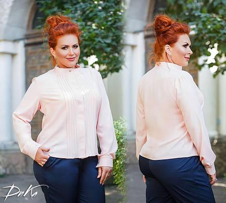 Классическая блуза в деловом стиле, фото 2