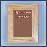 Рамка деревянная плоскаяя шириной 45мм под покраску. Размер, см.  28*35