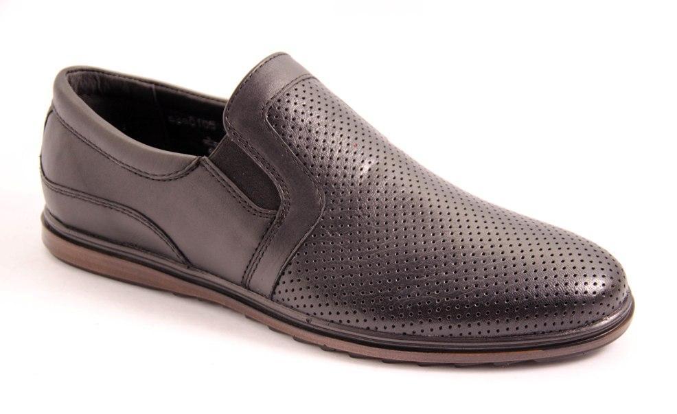 Туфли мужские черные Romani 5680105 р.40-45
