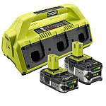 Аккумуляторы и зарядные устройства RYOBI