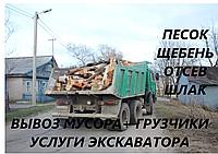 Вывоз мусора машинами камаз