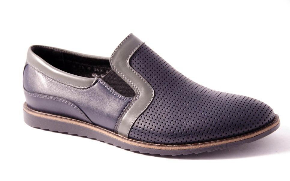 Туфли мужские синие Romani 5680121 р.40-45