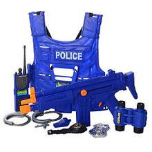Игровой набор полицейского с бронежилетом POLICE SWAT арт. 33530