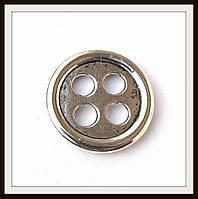 Вставка (замок) для браслетов  (диам.2 см) 6 шт