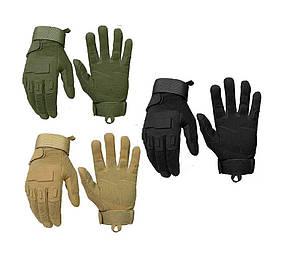Тактические перчатки с пальцами (полнопалые) реплика Oakley (Airsoft) военные, страйкбольные перчатки М