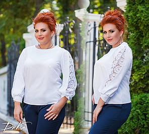 Миленькая блуза с гипюром, фото 2
