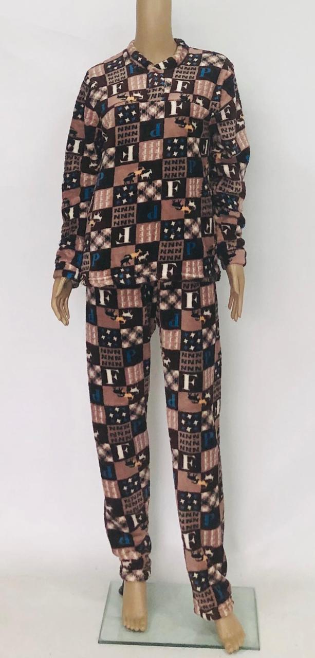Пижама мужская теплая