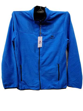 Кофта мужская флисовая Tommy Life Синяя, фото 2
