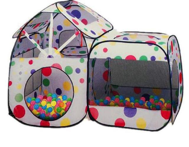Детские Палатки, корзины для игрушек и шарики