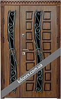 Входные двери Двери Комфорта Полуторные  1200мм x 860-960x2050 мм, Правые и Левые