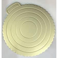 Подложка для торта серебристая Ø 220 мм (шт) Empire EM 0288, фото 2