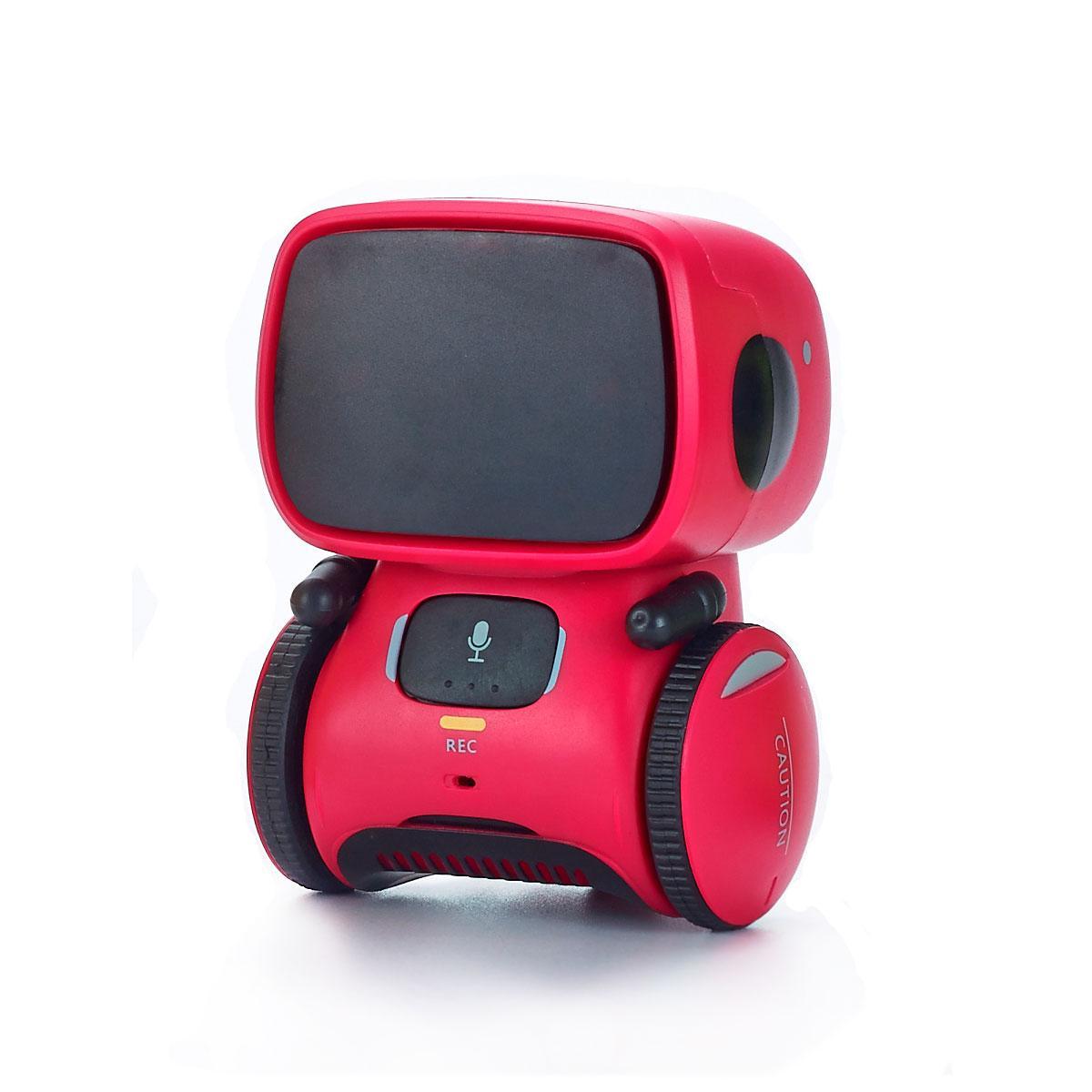 Интерактивный робот с голосовым управлением – AT-ROBOT (красный) AT001-01