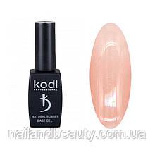 Каучукова база Коді для гель лаку Kodi Natural Rubber Base (NATURAL BEIGE), 12 ml