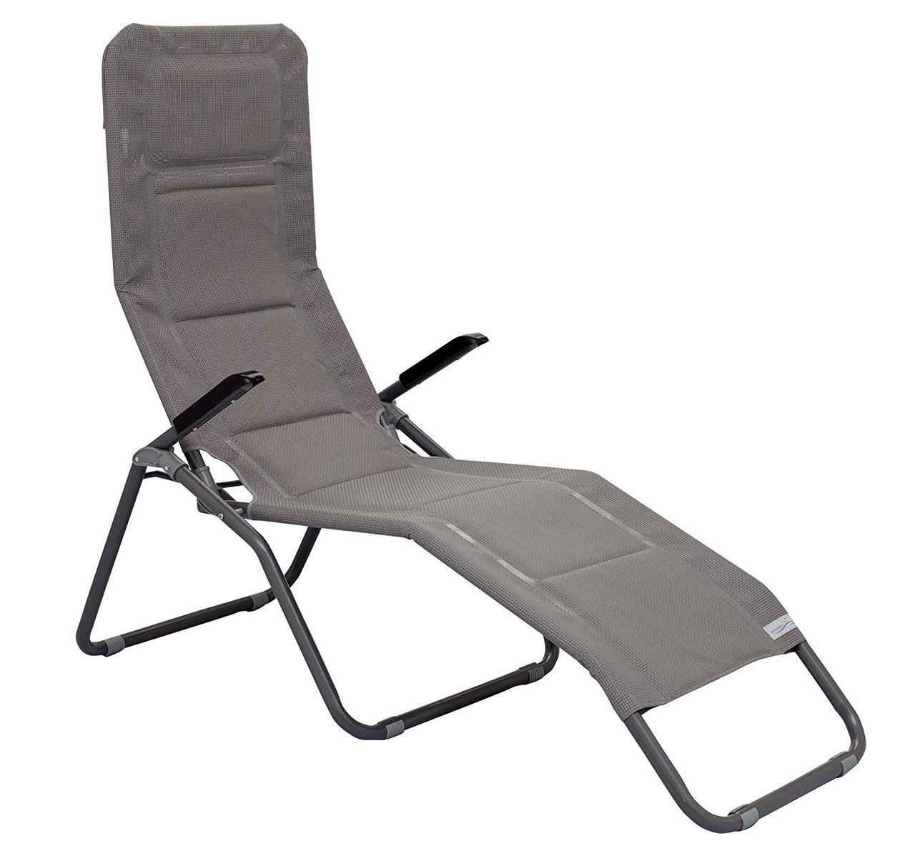 Садовое кресло шезлонг раскладное - Meerweh 153 x 72 x 126 см