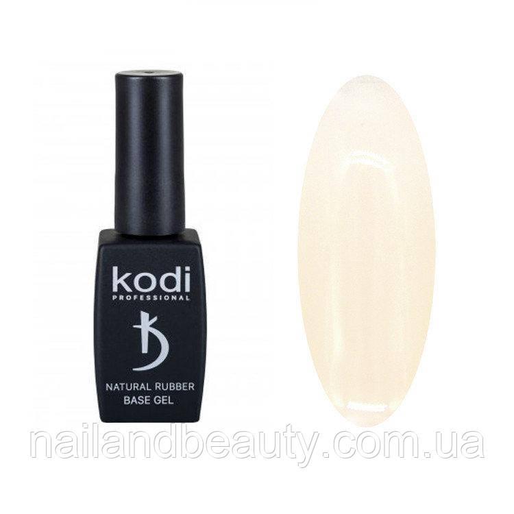 Каучуковая база Коди для гель лака Kodi Natural Rubber Base (IVORY), 12 ml