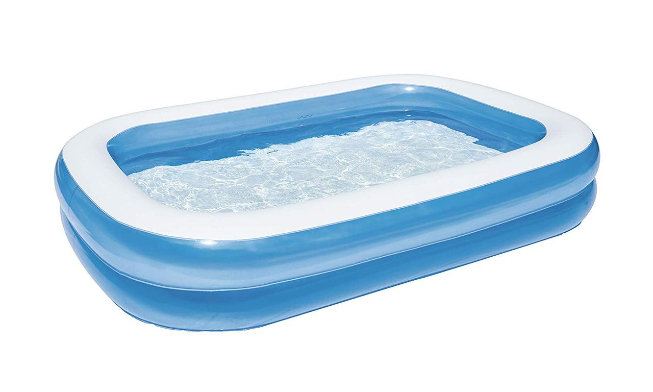Надувной бассейн - Bestway Piscine синий, 262 х 175 х 51 см