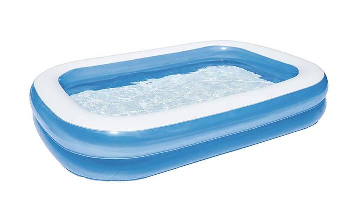Надувной бассейн - Bestway Piscine синий, 262 х 175 х 51 см, фото 2