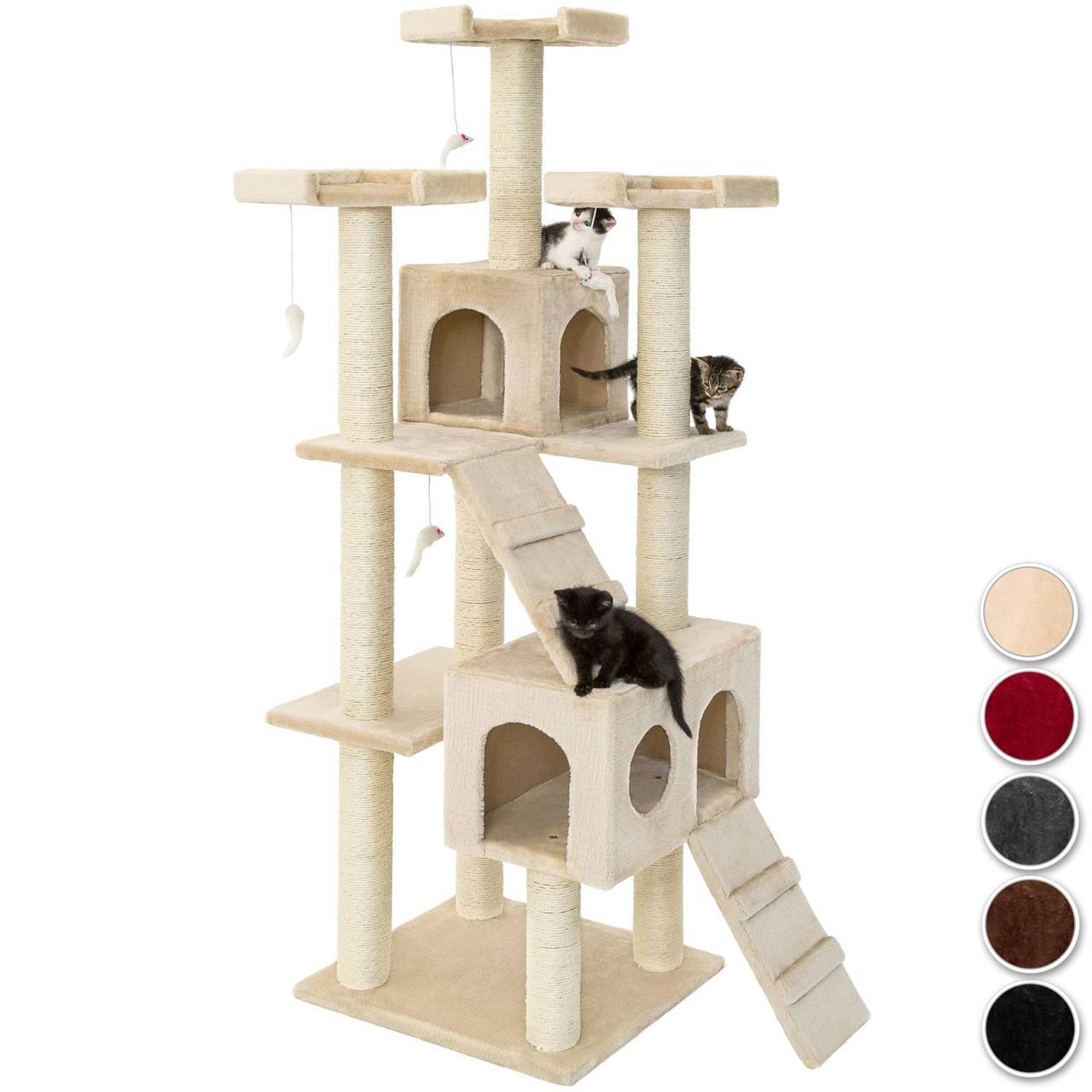 Когтеточка дерево для котов Кнути (в сортименте разные цвета)