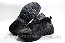Зимние кроссовки в стиле Nike M2K Tekno, Black (Air Monarch) на меху, фото 3