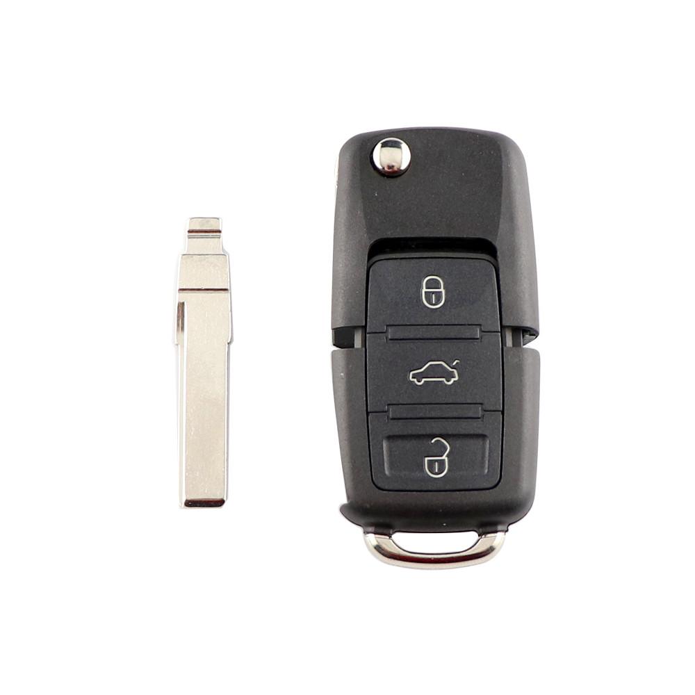 Ключ с платой 433Mhz Volkswagen Passat,Golf,Tiguan,Touareg,Polo, Jetta,Amarok,Beetle,Bora,Сaddy,Passat