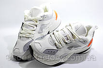 Зимние женские кроссовки в стиле Nike M2K Tekno, Beige color (Air Monarch) с мехом, фото 3