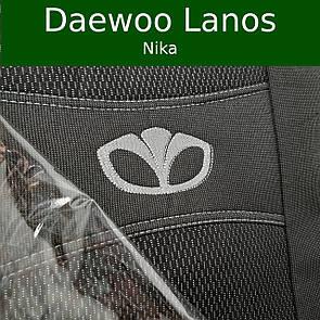 Чехлы на сиденья Daewoo Lanos (Nika)