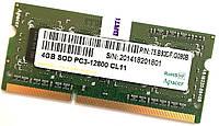 Оперативная память для ноутбука Apacer SODIMM DDR3 4Gb 1600MHz 12800 CL11 (75.B93DF.G090B) Б/У, фото 1