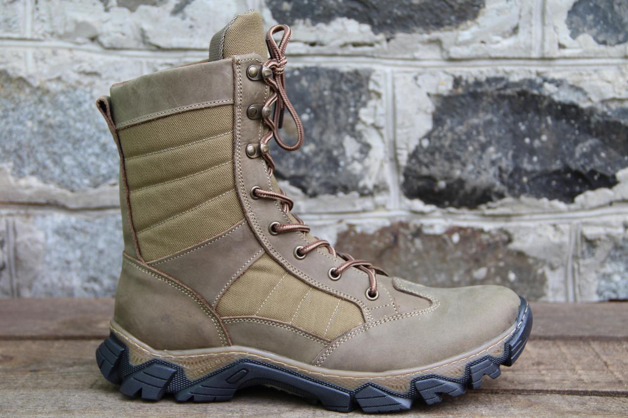 Тактические ботинки из натуральной кожи РА - Тайфун беж