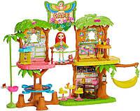 Игровой набор Enchantimals Junglewood Café Тропическое кафе Энчантималс с попугаем Какаду (GFN59)