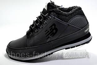 Зимние кроссовки в стиле New Balance HL754LLK, Black (На меху)