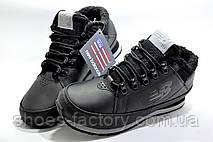 Зимние кроссовки в стиле New Balance HL754LLK, Black (На меху), фото 2