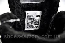 Зимние кроссовки в стиле New Balance HL754LLK, Black (На меху), фото 3