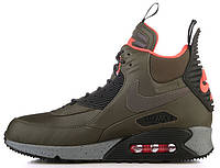 Мужские кроссовки Nike Air Max 90 Sneakerboot Winter Dark Loden Найк Аир Макс 90 Сникербут хаки