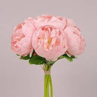 Букет Пионов светло-розовый.  Цветы искусственные